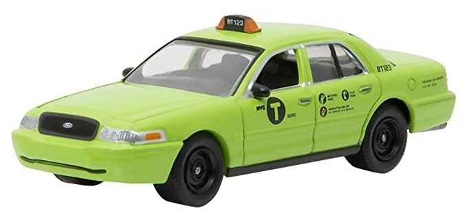 8185ccfcef6e1 2011 Ford Crown Victoria NYC New York City Boro Taxi Hobby Exclusive 1/64  by Greenlight 29858