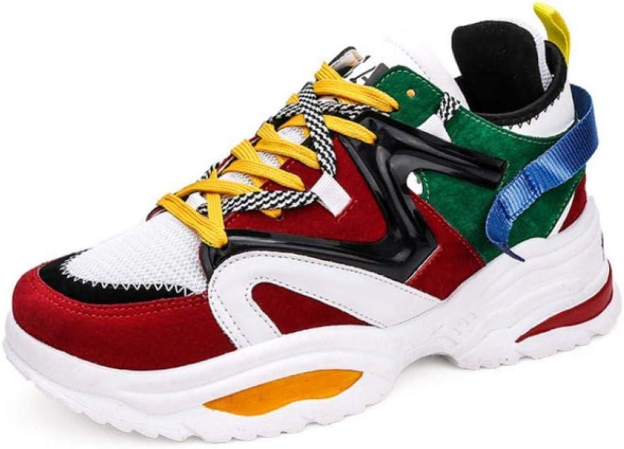 WAXFAS Sneakers Breathable Running Shoes Mens Fashion Mens Sports Shoes Basket Men: Amazon.es: Deportes y aire libre
