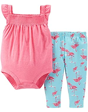 Baby Girls' 2 Piece Layette Set (Baby)