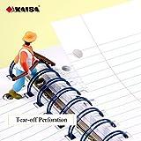 KAISA 3Subject Wirebound Notebook 120Sheets Column