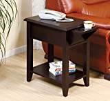 Smart Home Cup Holder Display Stand Chairside Table (Red Cocoa) Review