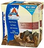 Advantage Ready-to-Drink Shakes, Dark Chocolate Royale Shake, 11 oz, 24 shakes, 1 case
