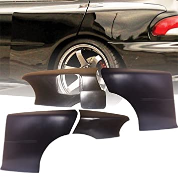 VSaero FRP LSPO 22B Wide Body Fenders 5pc (rear) > Subaru