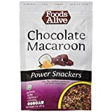 Foods Alive Power Crackers, Chocolate Macaroon, Organic, 3 Oz, Pack of 6