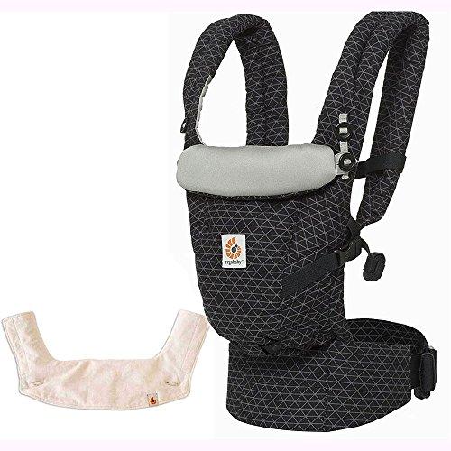 Ergo Baby USA 3 Position Adapt Baby Carrier - Geo Black w...