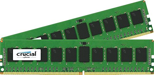 Crucial Server Ram (Crucial 16GB Kit (8GBx2) DDR4 2133 MT/s (PC4-17000) SR x4 RDIMM 288-Pin Server Memory -)