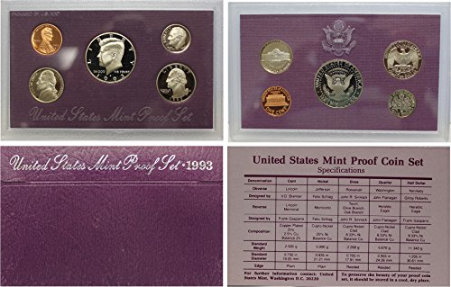 (1993 S US Mint Proof Set OGP)