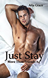 Just Stay: M/M Romance (More Than Friends Book 4)