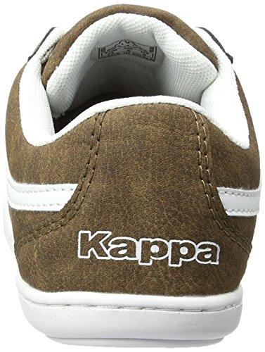 Kappa Herren Kent Low-Top Braun (5010 Brown/White)