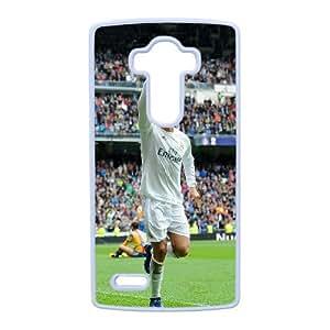 LG G4 phone case Cristiano Ronaldo CR7 blanca caja del tel¨¦fono celular 02