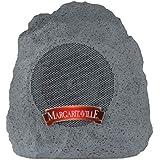 "Margaritaville ""On The Rock"" Outdoor Bluetooth Wireless Speaker   Durable Bluetooth Speakers, Fantastic Yard or Patio Decor,"