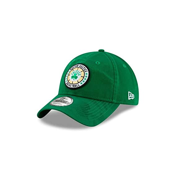pretty nice 2a930 9b64c New ERA Boston Celtics NBA 2018 Adjustable 9Twenty  Green   Amazon.co.uk   Clothing