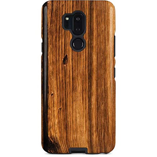 (Skinit Wood LG G7 ThinQ Pro Case - Glazed Wood Grain Design - High Gloss, Scratch Resistant Phone Cover)