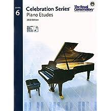 Celebration Series Piano Etudes 2015 Edition - Level 6
