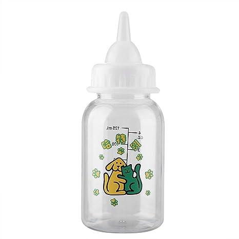 Botella De Lactancia para Mascotas Bebé Recién Nacido Mascota Gatito ...