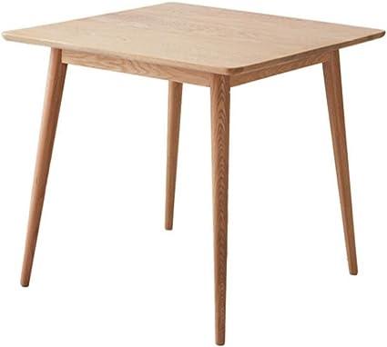 Folding Table Nan Tavolo Da Pranzo Quadrato Allungabile In Legno Di Quercia Bianca Tavolo In Legno Massello Laccato Chiaro Piccolo Tavolo Da Pranzo Per Casa Amazon It Casa E Cucina