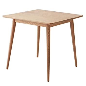 Table A Manger Carree Extensible.Nan Table De Salle A Manger Carree En Bois De Chene Blanc