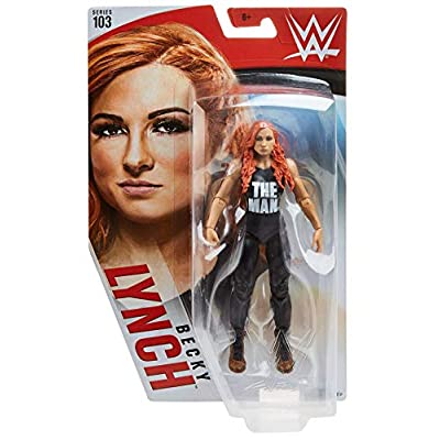 WWE Becky Lynch Action Figure, Multicolor: Toys & Games