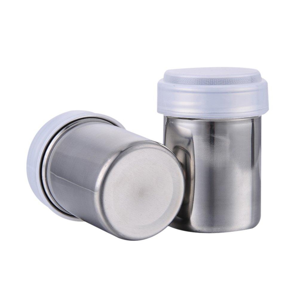 Awtang Stainless Steel Dredger Fine Mesh Shaker Cocoa Powder Shaker