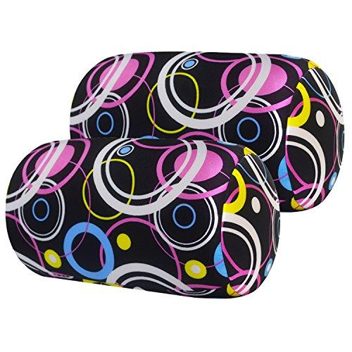2 Pcs Microbead Bolster Roll Pillow 7
