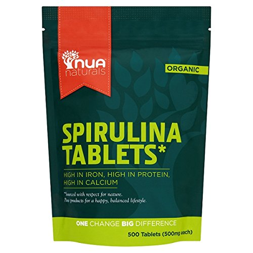 Nua Naturals Spirulina (500 Tablets) (PACK OF 2) by Nua Naturals
