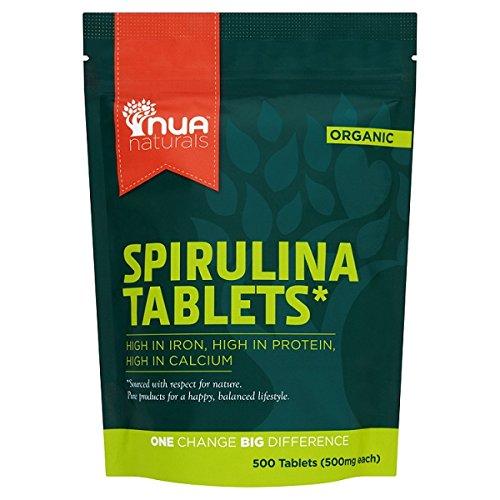 Nua Naturals Spirulina (500 Tablets) (PACK OF 2)