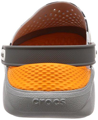 U Graphic Grey Clog Crocs 97a Literide camo Unisex Zuecos Adulto light Gris 5qtv7xBw