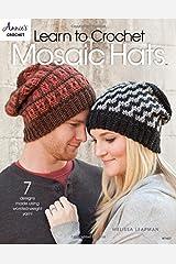 Learn to Crochet Mosaic Hats (Annie's Crochet) Paperback