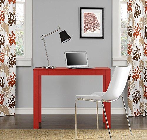 Altra Delilah Parsons Desk with Drawer Red Kitchen in  : 51BhPX4 BrL from en-sa.desertcart.com size 500 x 475 jpeg 63kB