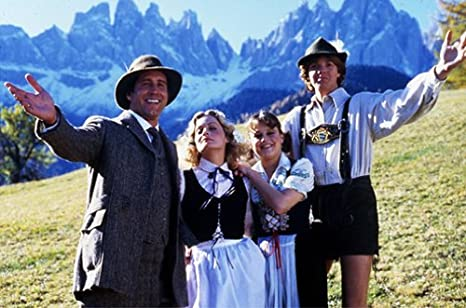 National Lampoon European Vacation Beverly DAngelo Chevy Chase - European vacation