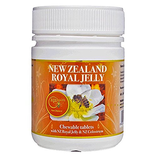 Royal Jelly Chewable Tablets 1000mg (120 - Bee Chewable Propolis