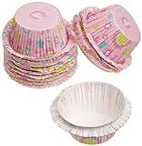 ruffle baking cups - Wilton Spring Garden Double Ruffle Baking Cups, Standard, 12-Count