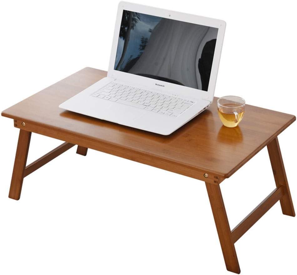 コーヒーテーブルコンピュータデスク折りたたみ式テーブル家庭用畳テーブルベッドデスクバルコニーベイウィンドウティーテーブルギフト (Color : 80*40*34CM)