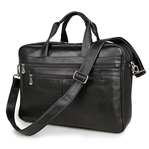 Texbo Leather Briefcase Shoulder Messenger product image
