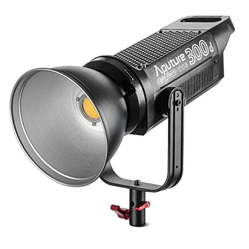 Aputure Light Storm LS COB 300D Daylight LED Video Light with Bowens Mount/V-Mount Plate and Carrying Bag ()