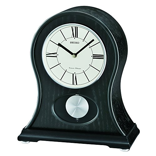 Seiko QXQ027KLH Mantel Japanese Quartz Shelf (Seiko Quartz Clock)