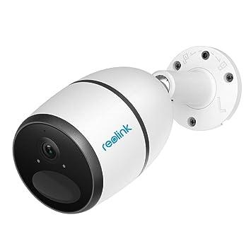 Reolink Go 1080P Cámara de Vigilancia Móvil 3G/4G LTE Exterior, Tarjeta SIM, Batería Recargable/Panel Solar, Conectividad LTE, Sensor PIR (Incluye ...