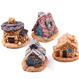 CFHKStore 1 Pc Miniature Stone House Fairy Garden Colors Random