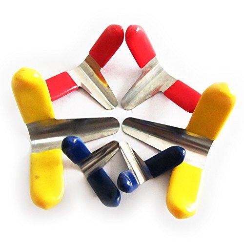 TPM Go 6pcs Lock Pick Shims, Padlock Lock Pick Tools(Three Sizes)