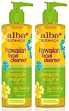 Good Cleansing Drinks - Alba Botanica Hawaiian, Pineapple Enzyme Facial Cleanser, 8 Ounce (Pack of 2)