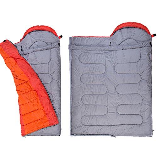 Campsod Hiking Camping Sleeping Bag Lightweight Rectangular Waterproof Bags XL