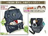 Japan Anello Backpack Unisex LARGE RED WINE