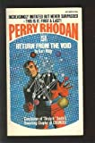 Return From The Void (Perry Rhodan #51)
