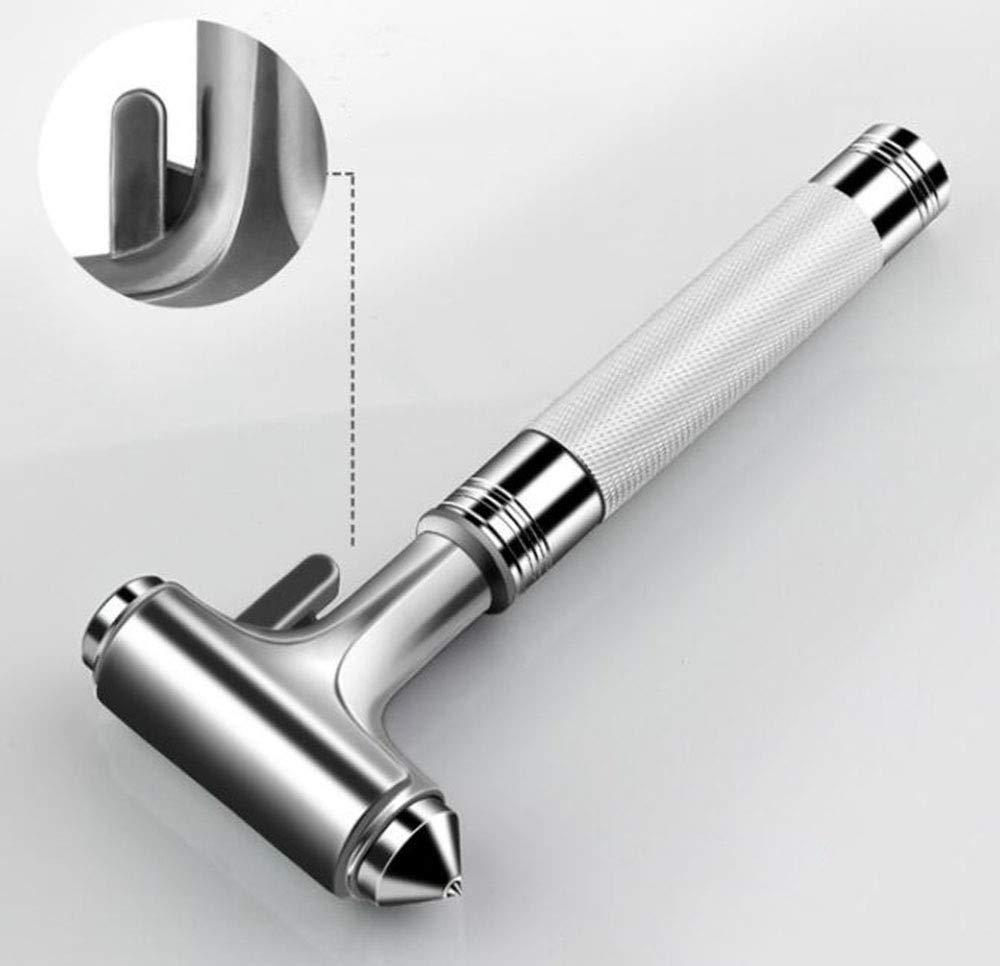 OPRG Auto Car Vehicle Safety Hammer Window Breaker Premium Metal Seat Belt Cutter Survival Emergency Tool ( 1 Pcs Emergency Hammer)