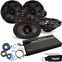 MB Quart ZA2-1600.4 Amp, a pair of XC1-216 6.5 Component speakers, a pair of XK1-169 6x9 Speakers & Wire Kit