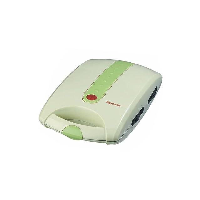 SignoraCare 4 Slice 1200 Watts Sandwich Maker Toaster-Green Sandwich Makers at amazon