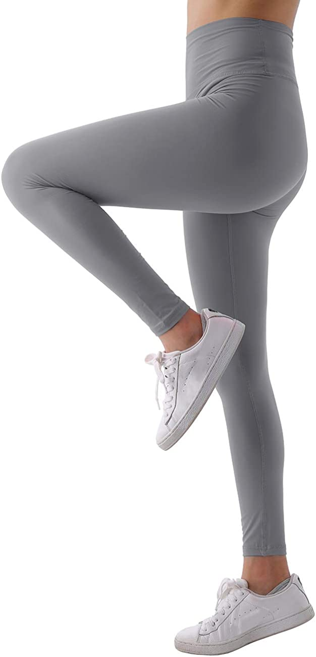 Utheral Womens High Waisted Yoga Pants Buttery Soft Leggings Tummy Control 4 Way Stretch Seamless Activewear