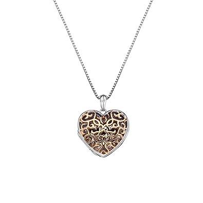 Hot Diamonds Women 925 Sterling Silver Diamond Pendant Necklace of Length 45cm DP667 RWIQooDW1