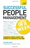 Successful People Management in a Week, Norma Barry, 1444185853