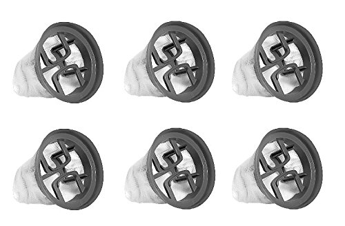 Bissell 1479 Bolt Replacement Filters (6-Pack)